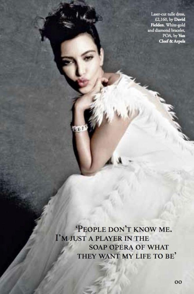 Kim Kardashian En Robe De Mariee Pour Tatler Photos Et Video