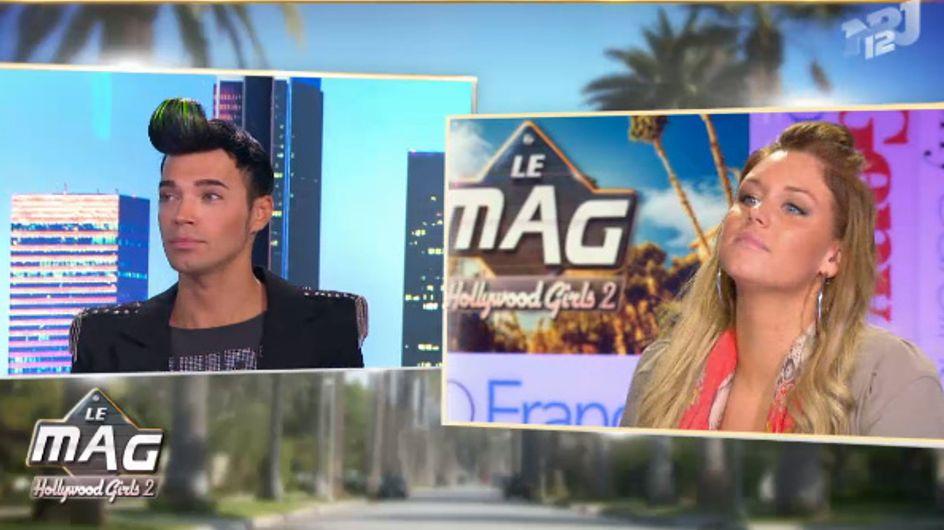 Les Anges de la Télé Réalité : Aurélie et Bruno se clashent dans Le Mag (Vidéo)