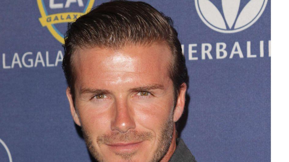 David Beckham : Surpris en slip en pleine rue (Vidéo)