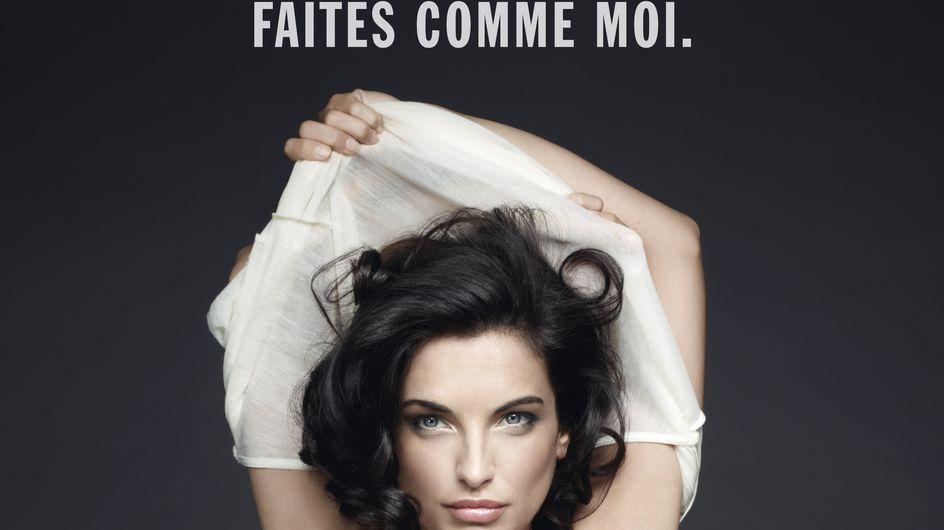 Cancer du sein : Facebook censure l'affiche de Pauline Delpech seins nus (Photos)