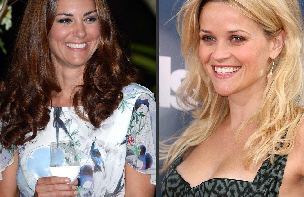 Kate Middleton : Son cadeau de naissance au bébé de Reese Witherspoon