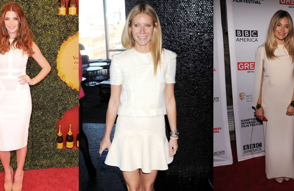 Gwyneth, Ashley, Sienna : Le blanc, dress code du week-end ! (Photos)