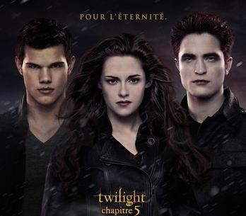 Twilight 5 : Découvrez l'affiche française (Photos)