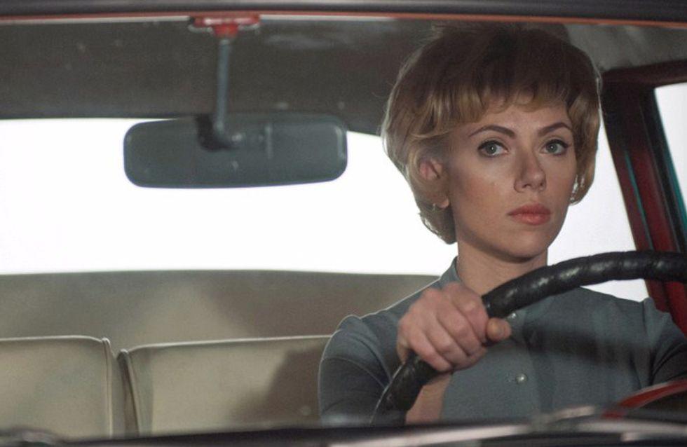 Scarlett Johansson : Nue sous la douche pour Hitchcock (Vidéo)