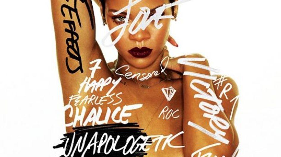 Rihanna seins nus sur son nouvel album (Photos)