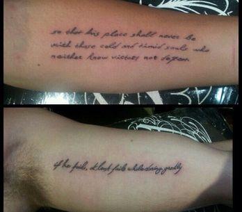 Miley Cyrus et Liam Hemsworth : Unis par le tatouage (Photos)
