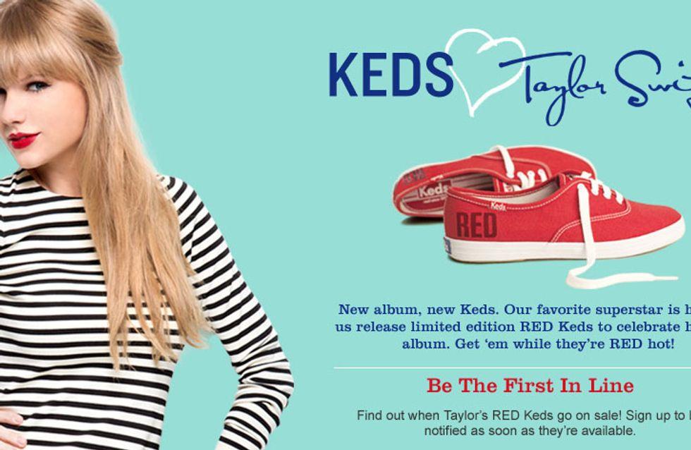 Taylor Swift : Elle s'associe à la marque Keds