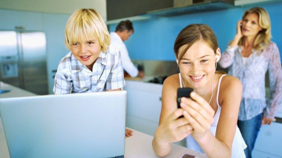 Téléphone portable : Comment gérer au mieux avec les enfants ?