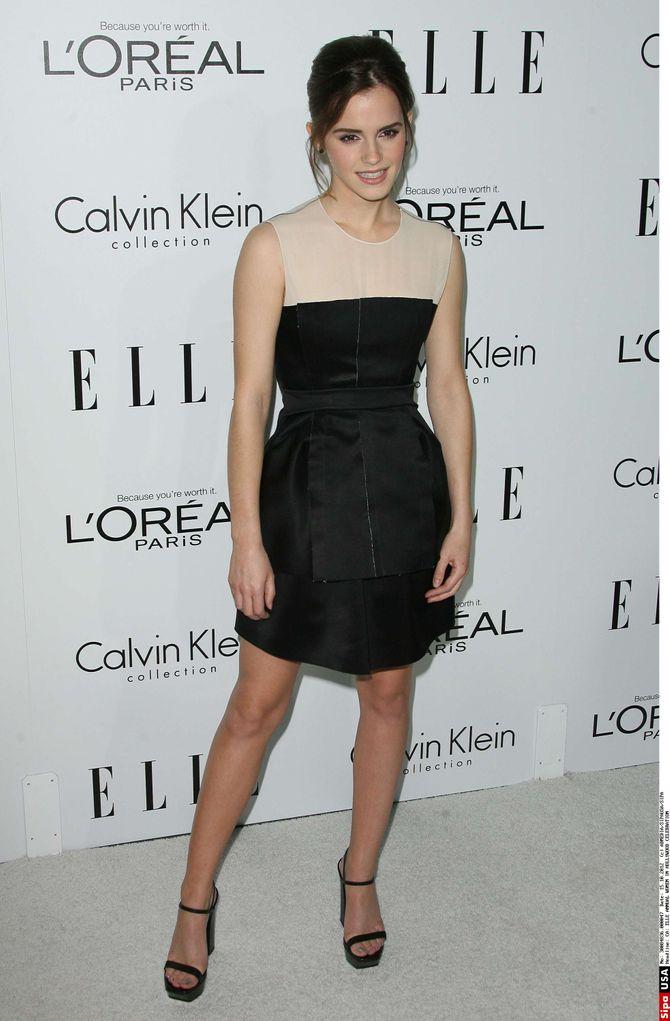 Emma Watson 19ème édition du gala ELLE