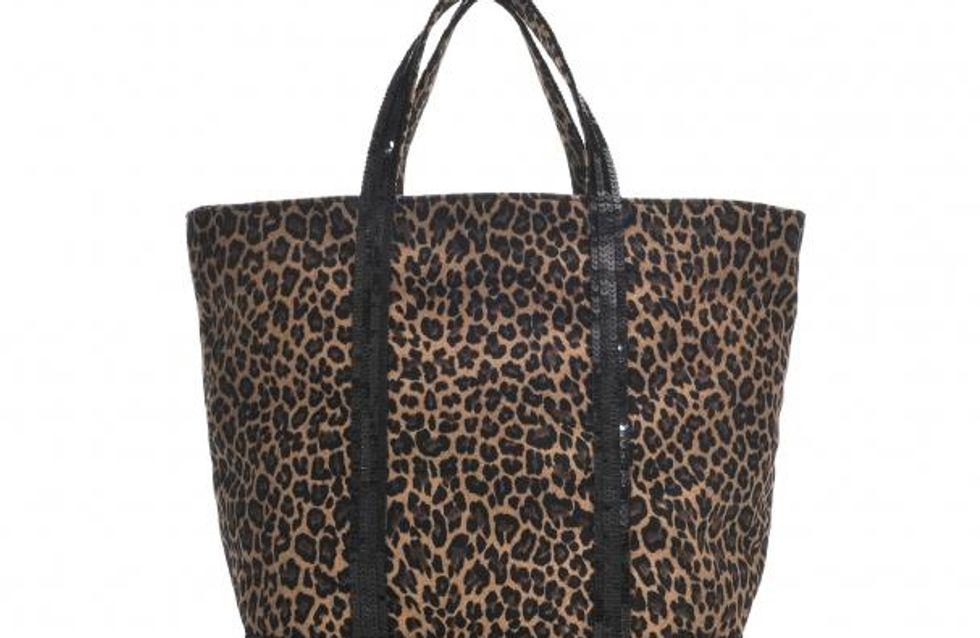 Vanessa Bruno : Son fameux cabas s'habille de léopard ! (Photos)