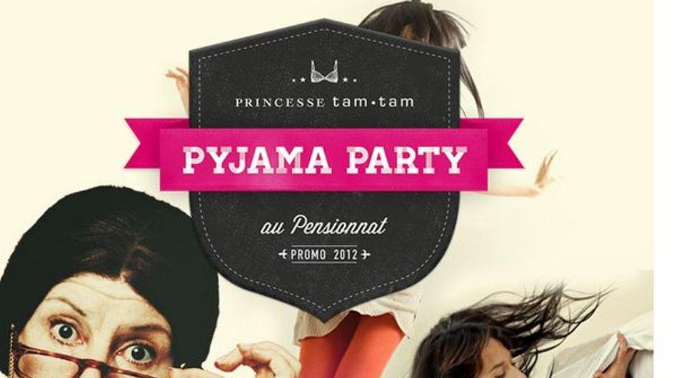 Princesse Tam Tam : Inscrivez-vous à la Pyjama Party !