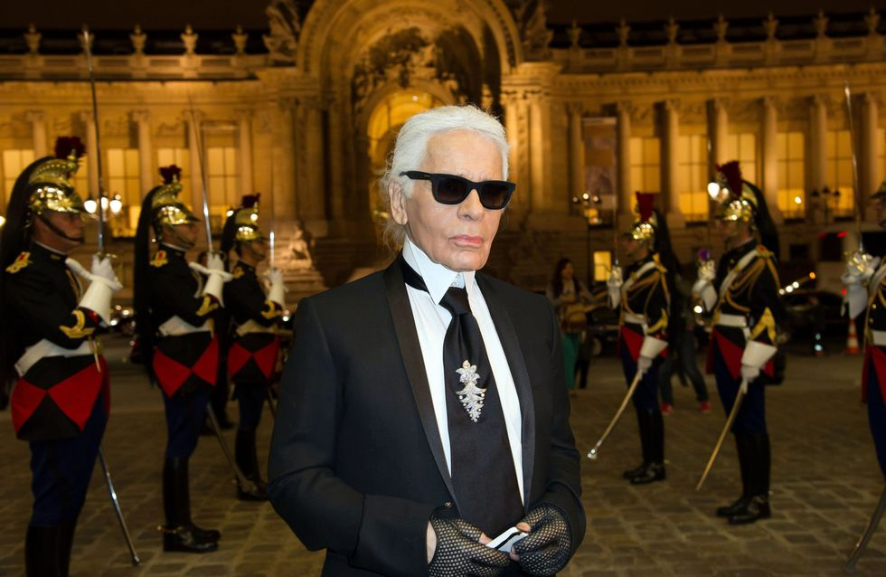 Karl Lagerfeld : Non il n'a pas traité François Hollande d'imbécile (Vidéo)