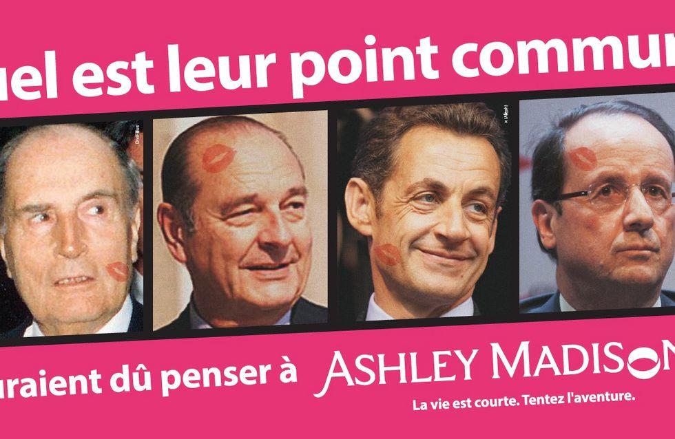 Sarkozy, Hollande, Chirac, Mitterrand : La pub qui crée le buzz !