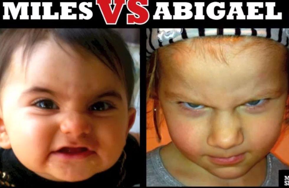 Le concours du bébé le plus diabolique de l'année (Vidéo)