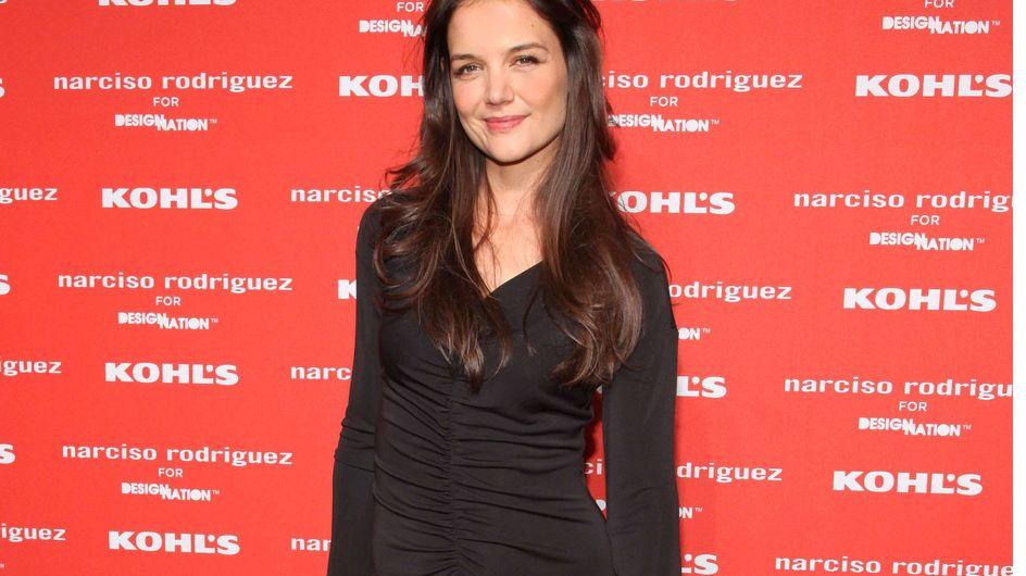 Katie Holmes : Bien lookée mais mal à l'aise sur le tapis rouge ! (Photos)