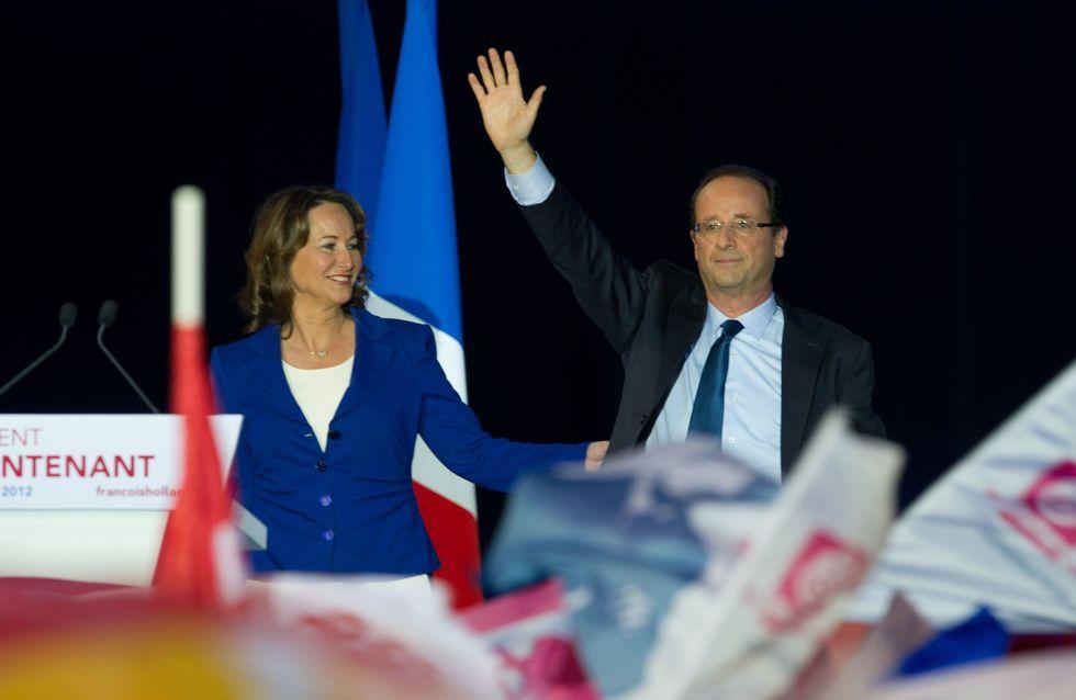 François Hollande : ''Vous avez vu comme elle est belle, Ségolène…''