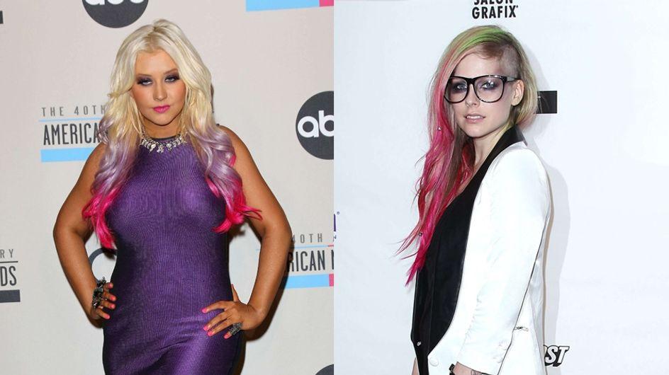 Christina Aguilera et Avril Lavigne : Le match mode qui fait flipper (Photos)