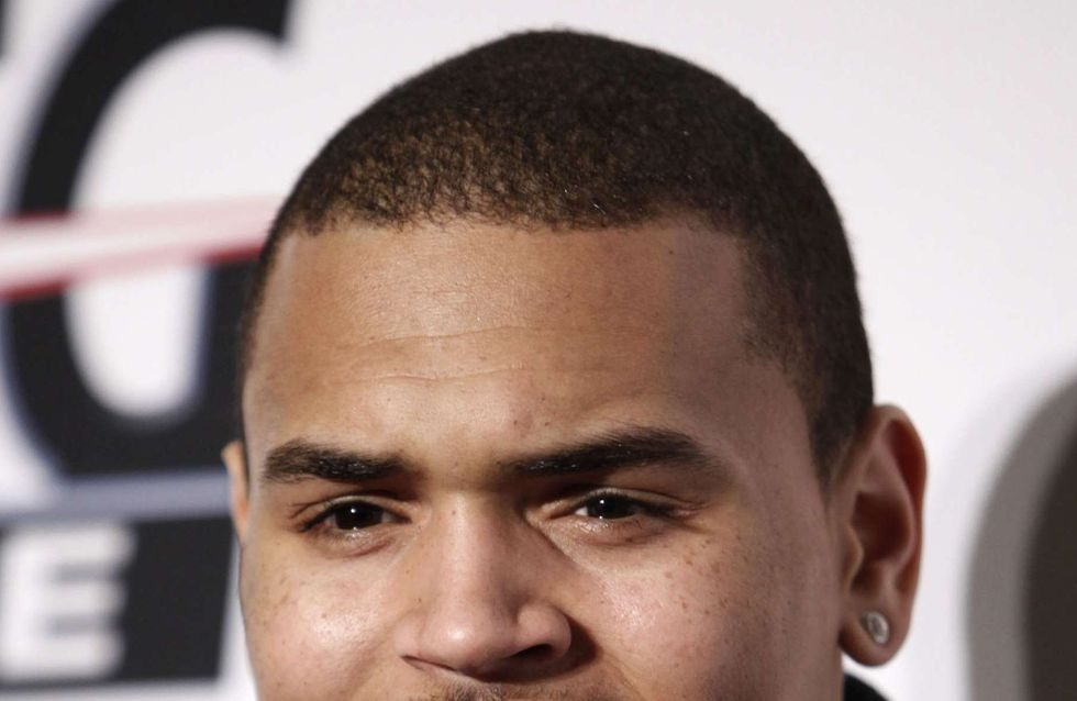 Chris Brown : Il fête Halloween avec son ex