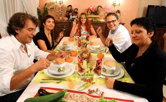 Delphine Wespiser Miss France Un dîner presque parfait
