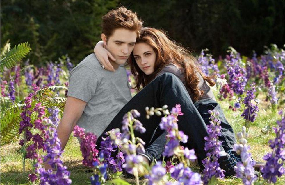 Twilight : C'est chaud entre Edward et Bella… (Vidéo)