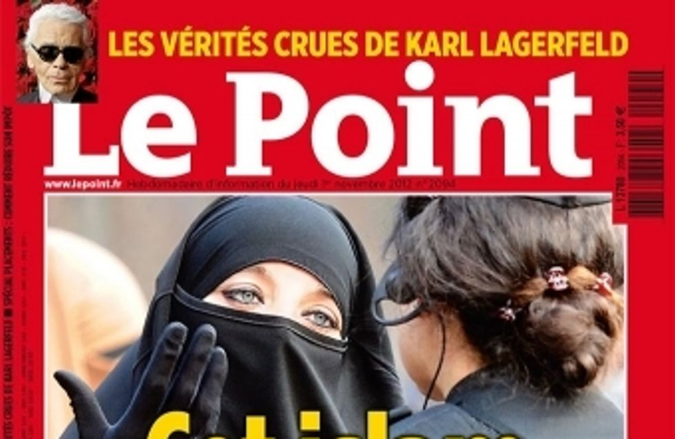 Islam : La Une du point qui gêne (Photos)