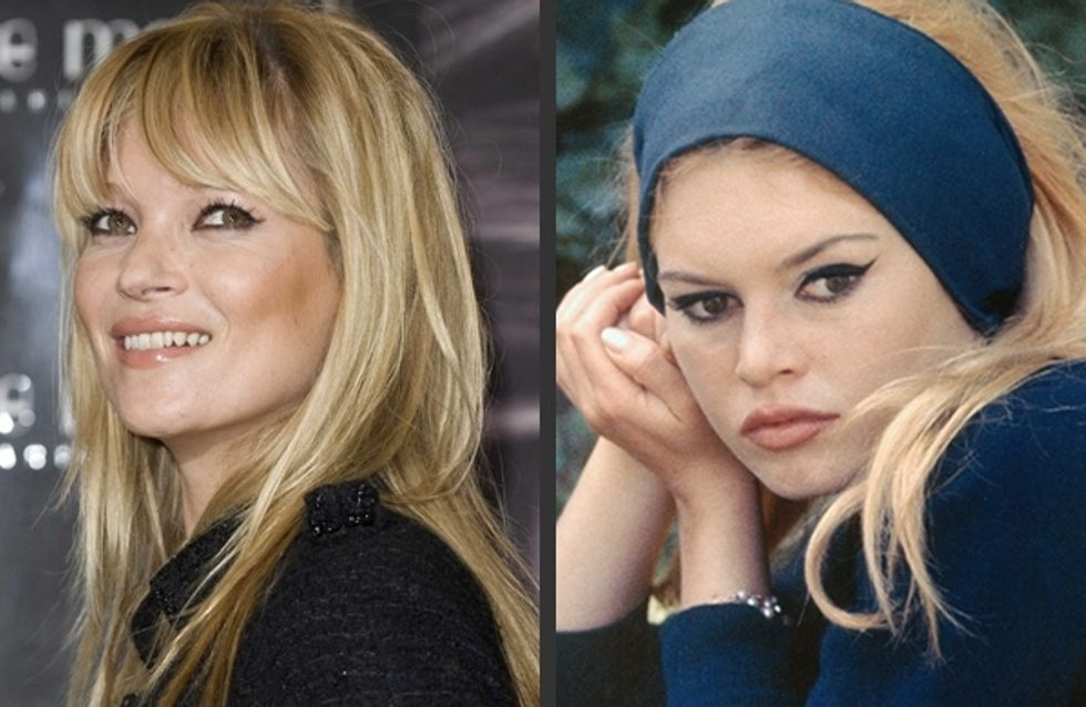 Kate Moss : Elle se la joue Brigitte Bardot (Photo)