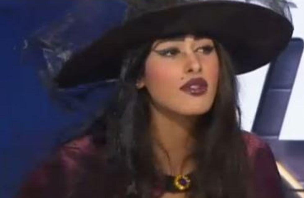 Ayem : En sorcière sexy sur le plateau d'Hollywood Girls le Mag' (Vidéo)