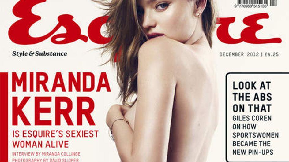 Miranda Kerr : Seins nus pour Esquire (Vidéo)