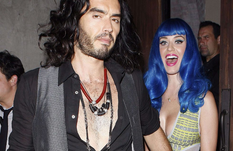 Katy Perry : Russell Brand mal à l'aise face à elle