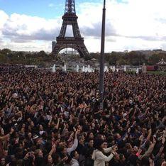 Gangnam Style : Le flashmob géant de Cauet et Psy en vidéo !