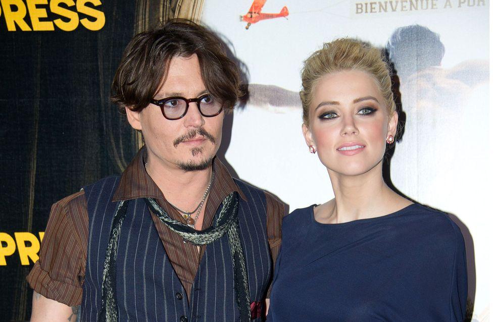 Johnny Depp : De nouveau avec Amber Heard