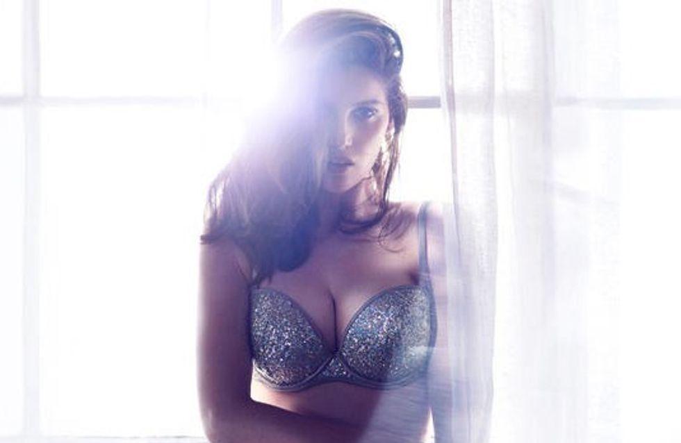 Laetitia Casta : Shooting sexy en lingerie pour H&M