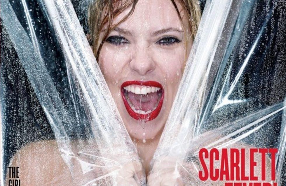 Scarlett Johansson nue sous la douche pour V Magazine