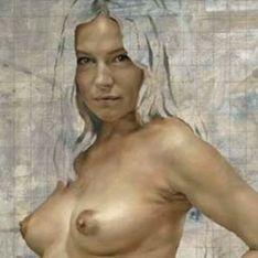 Sienna Miller : Nue et enceinte, c'est de l'art !