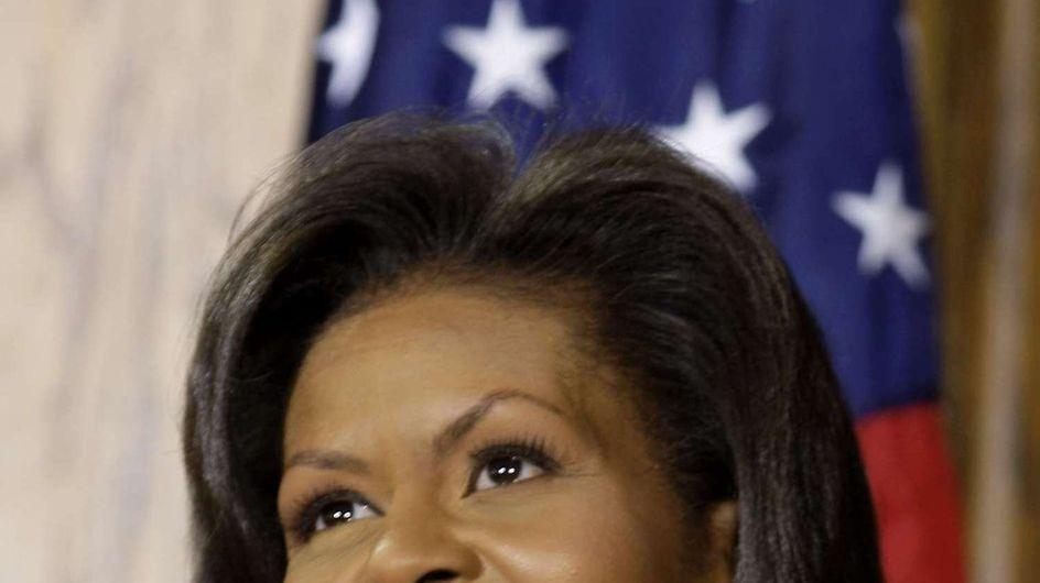 Michelle Obama et ses filles : Radieuses pour la victoire (Photo)