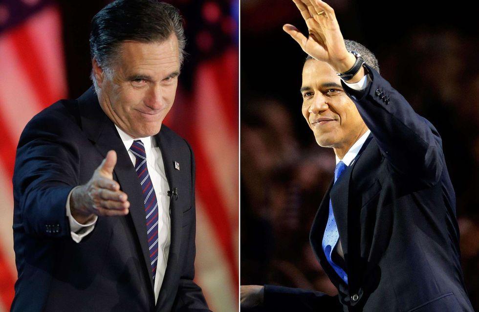 Présidentielle américaine : Elle appelle ses jumeaux Mitt et Barack