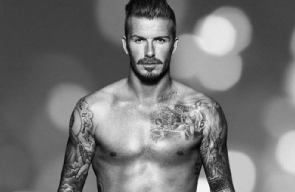 David Beckham se remet en slip pour H&M (Photos)