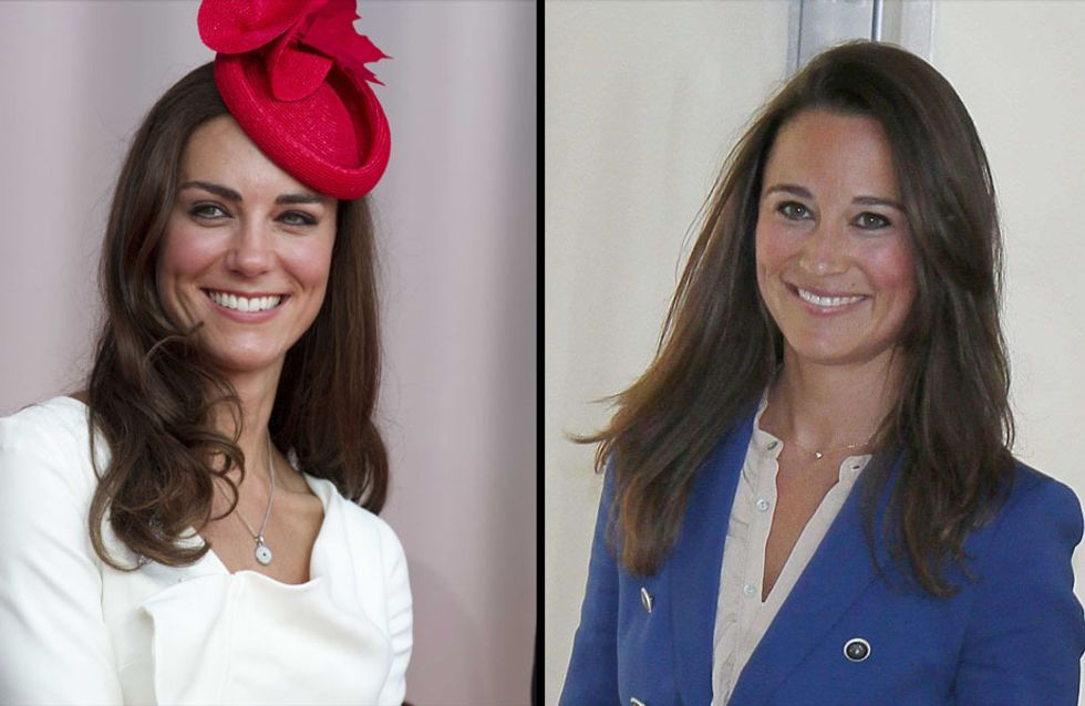 Kate et Pippa Middleton : sœurs de look (Photo)