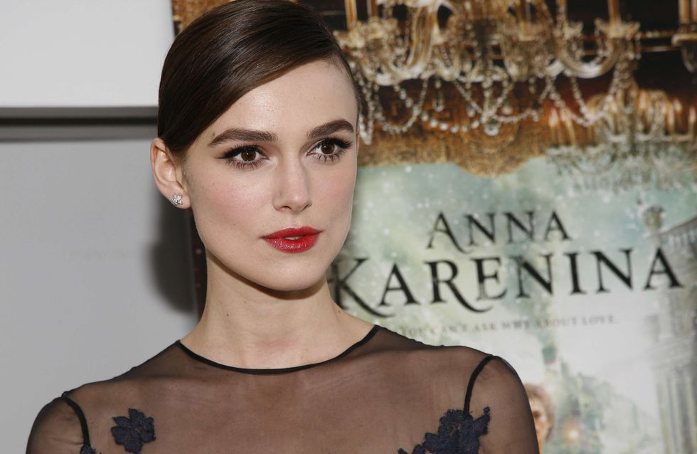 Keira Knightley : Irrésistible en Valentino (Photos)