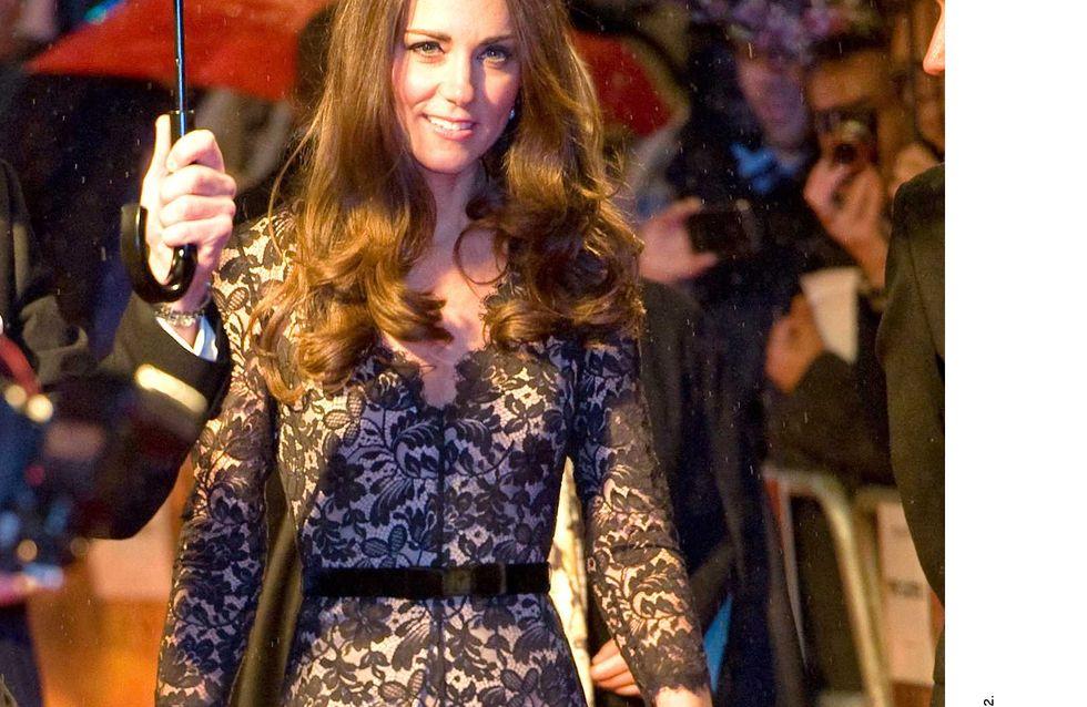 Kate Middleton : Sa robe transparente refait surface (Photos)