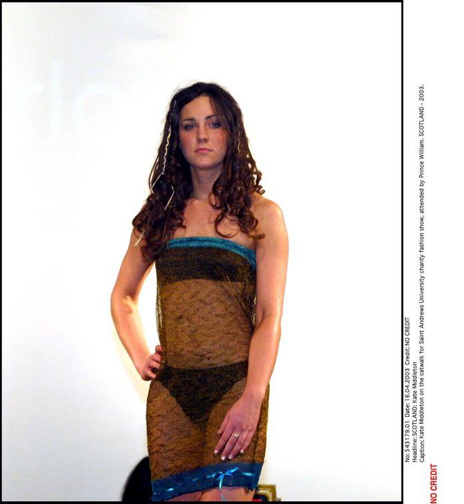 Kate Middleton robe transparente