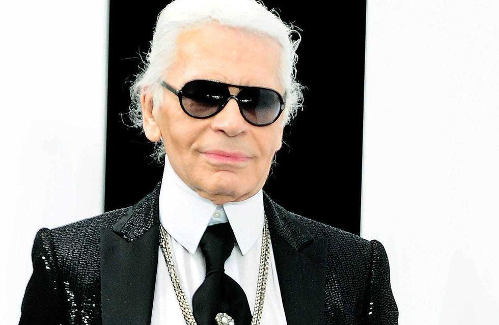 Karl Lagerfeld lance une ligne de montres ! (Photos)