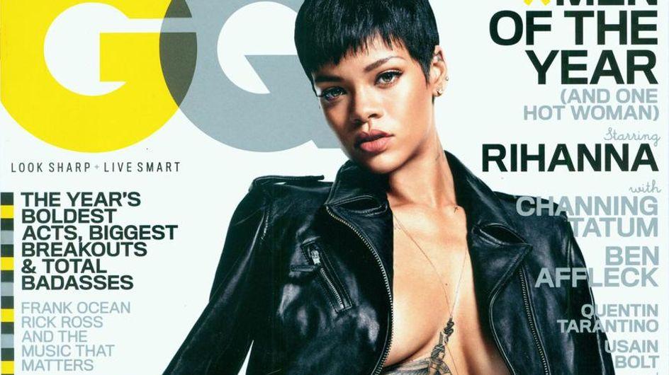 Rihanna : Nue et torride pour GQ (Photos)