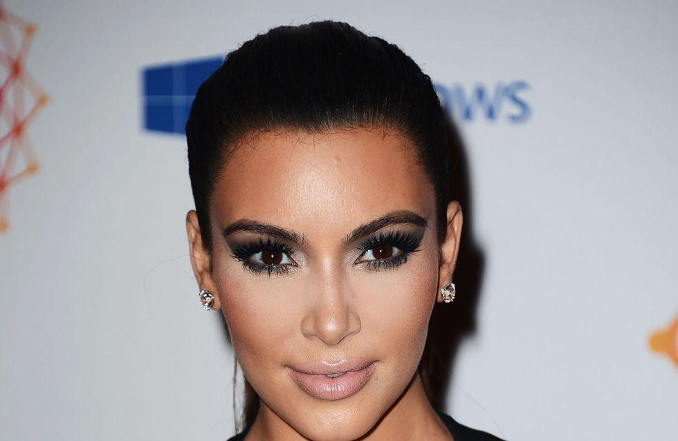 Kim Kardashian : Aurait-elle des problèmes d'acné ?