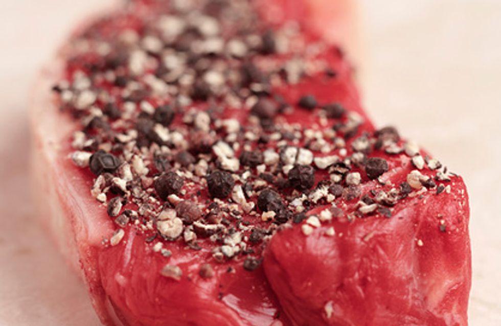 Des antivols sur la viande dans un supermarché de Lille