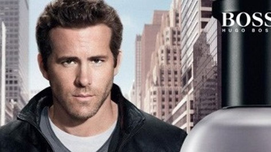 Ryan Reynolds : Egerie sexy d'Hugo Boss