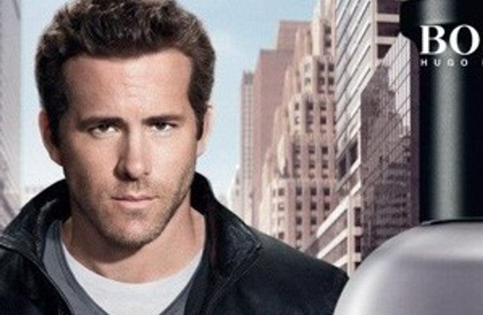 Ryan Reynolds : Egerie sexy d'Hugo Boss