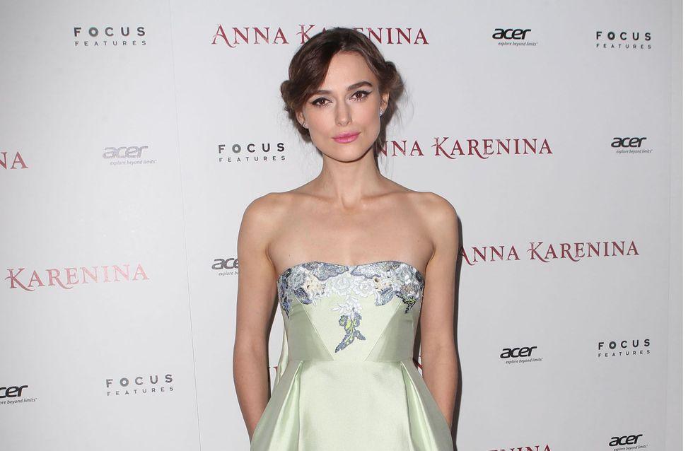 Keira Knightley : Magnifique en robe bustier pour Anna Karenine (Photos)