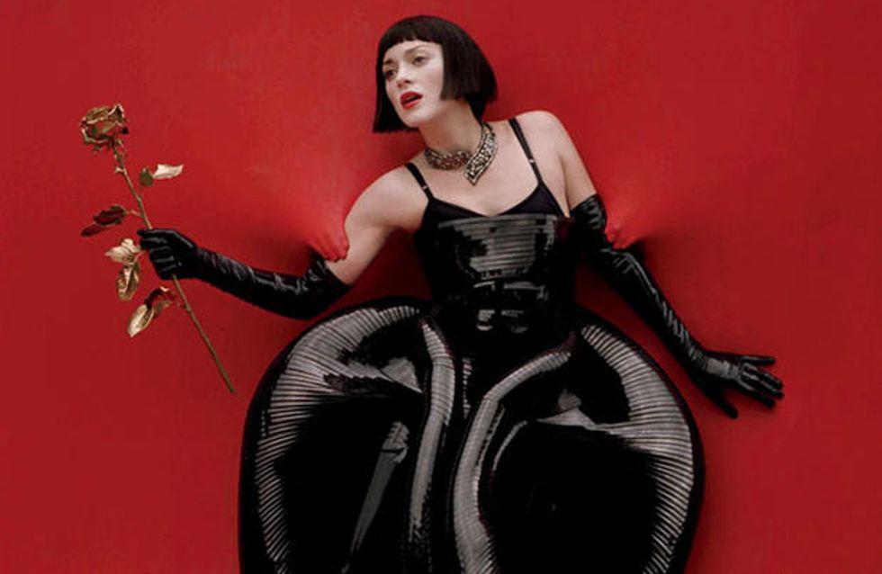 Marion Cotillard : Magnifique et angoissante dans W Magazine (Photos)