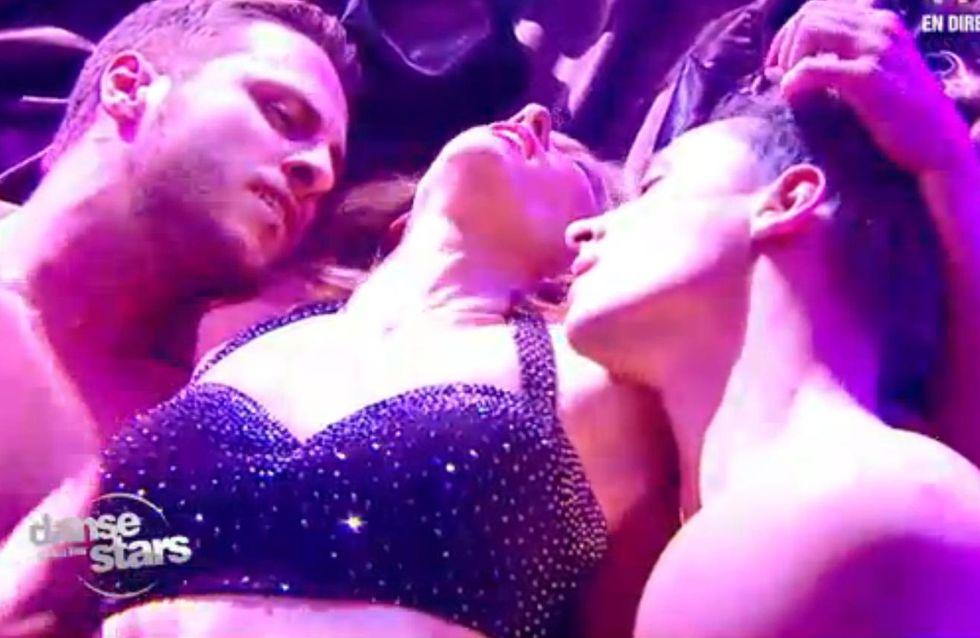 Danse avec les stars : Lorie érotique avec sa danse à trois (Vidéo)